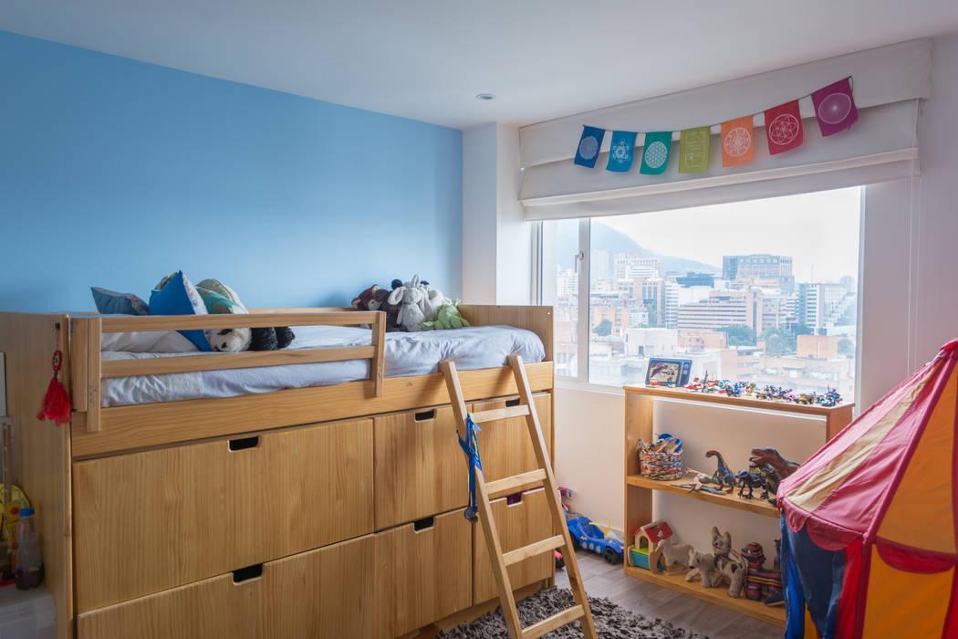 Habitación niño call 78: Habitaciones de estilo  por am Arquitectos