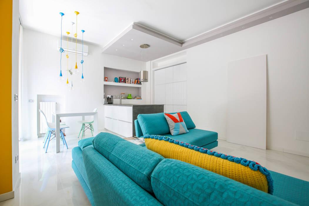 Ristrutturazione Case Livings de estilo moderno