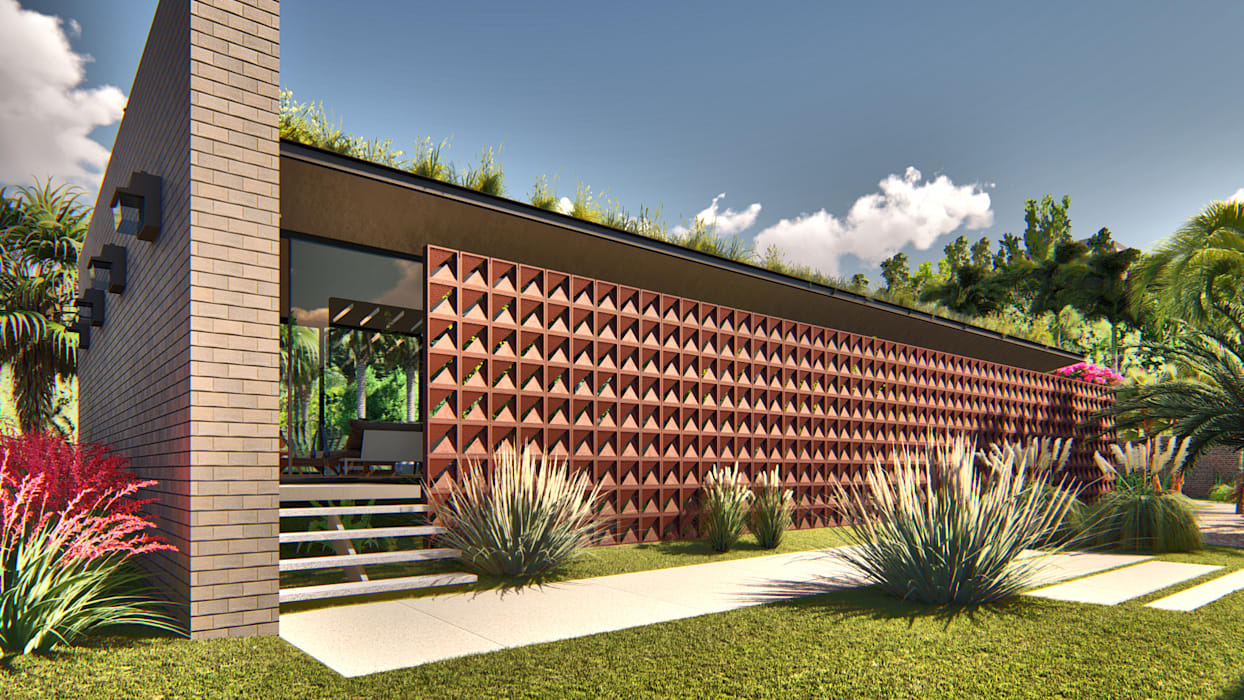 Casa Linear por IEZ Design Minimalista