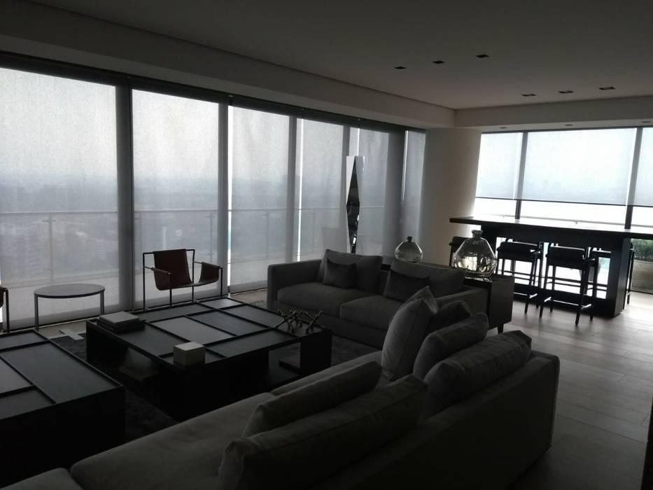 Malla de control solar de Persam persianas y cortinas Minimalista