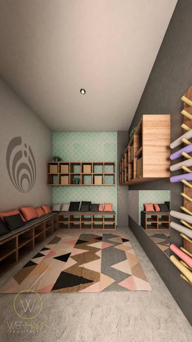 WERHAUS ARQUITECTOS Commercial Spaces Wood effect