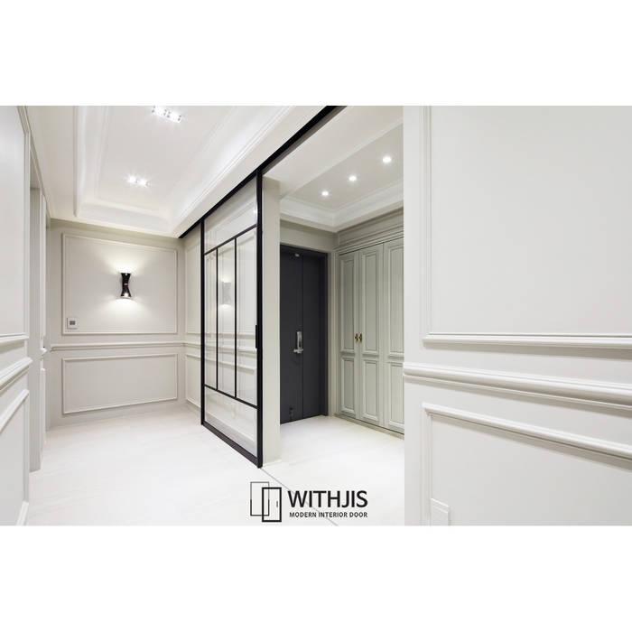 Projekty,  Drzwi szklane zaprojektowane przez WITHJIS(위드지스)
