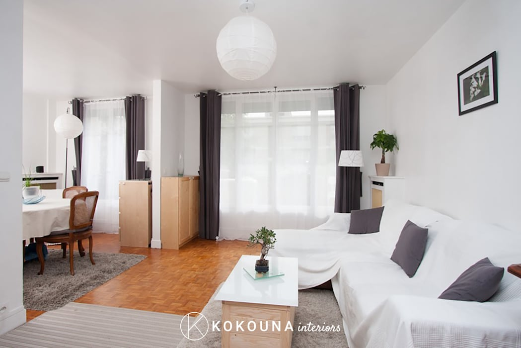 Home staging salon salon de style par kokouna homify - Home staging salon ...
