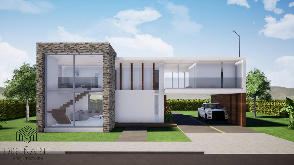 Häuser von CONSTRUCCIONES DISEÑARTE