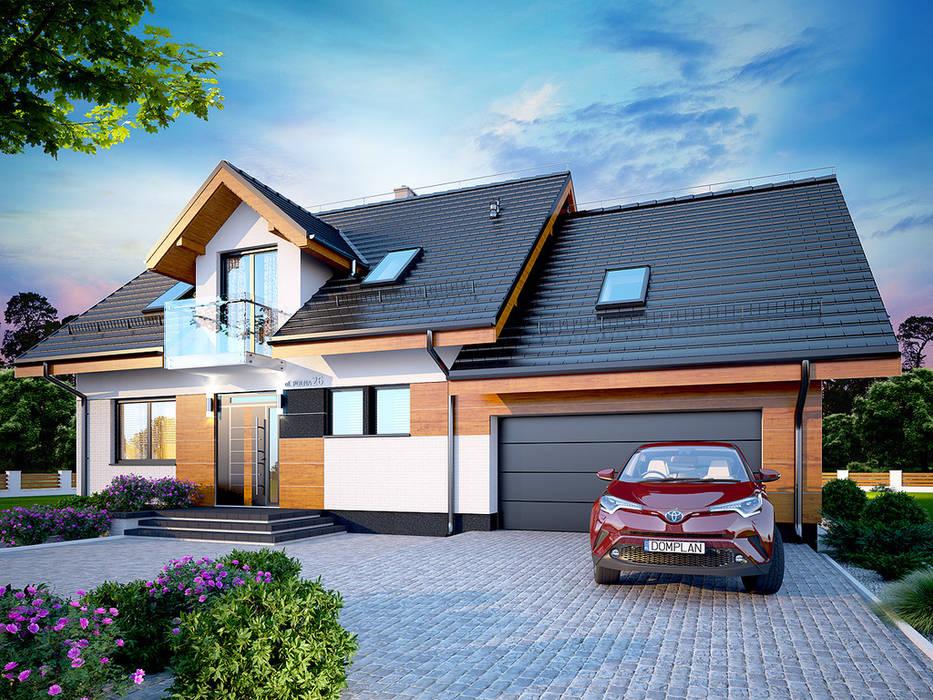 Casas unifamiliares de estilo  por Tooba.pl, Clásico Concreto
