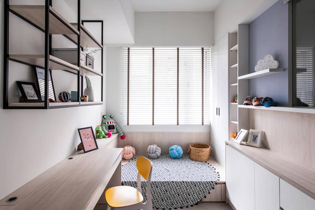 中古翻新生活宅 閱讀休憩空間 根據 達譽設計 北歐風