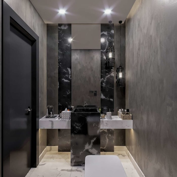 Kalafatoglu Marina Residence Modern Banyo VERO CONCEPT MİMARLIK Modern