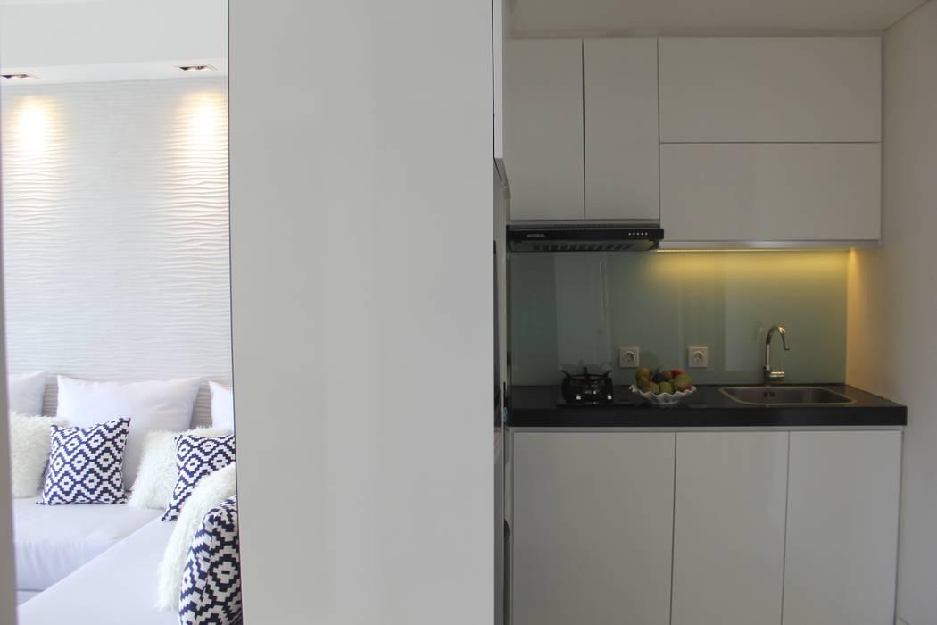 Dapur: Unit dapur oleh POWL Studio, Modern