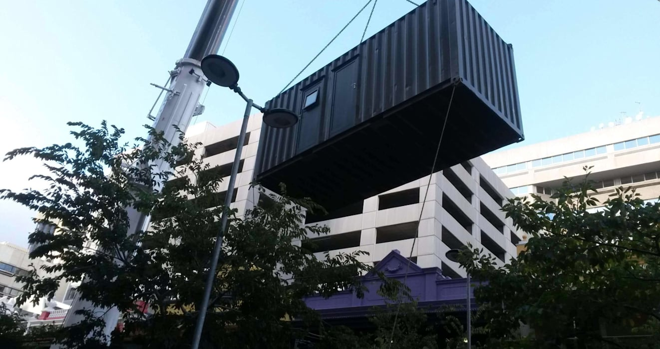Container Bar and Outdoor Dining Space Cape Town:  Bars & clubs by Container Rental and Sales (Pty) Ltd