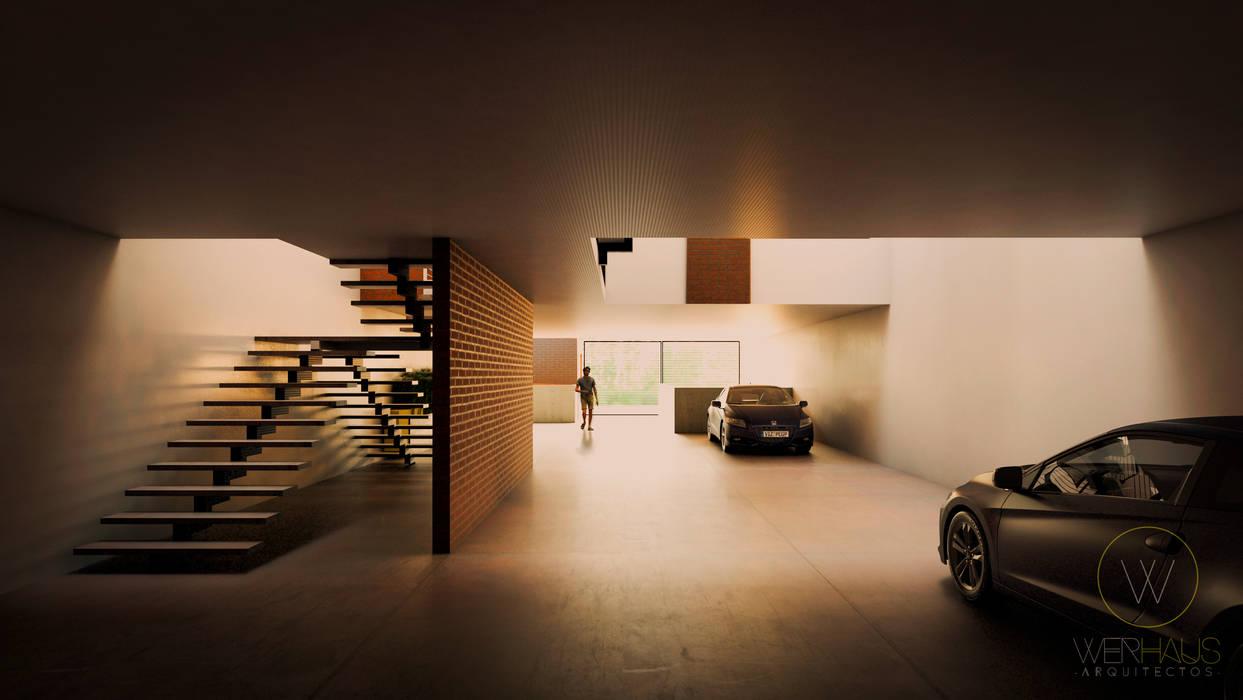 WERHAUS ARQUITECTOS Maisons modernes