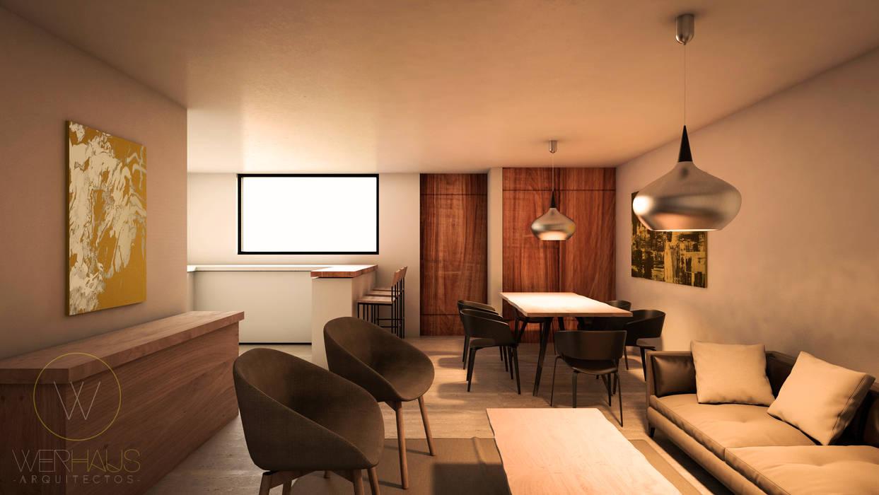 WERHAUS ARQUITECTOS Minimalist living room