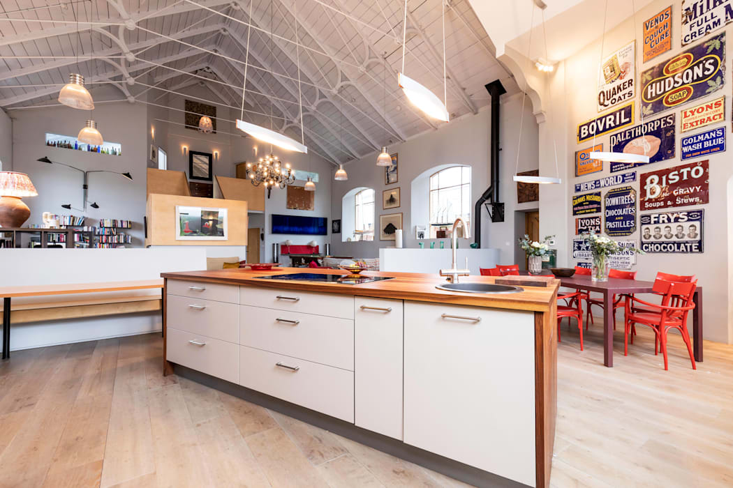 Kitchen Dapur Gaya Eklektik Oleh dwell design Eklektik