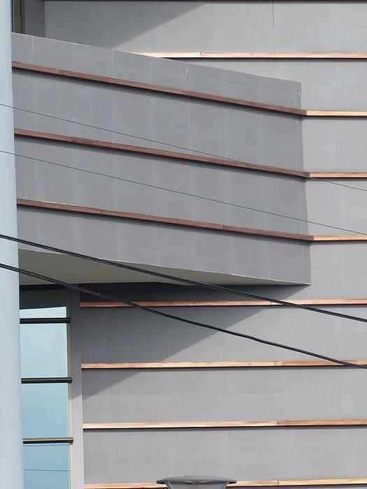 Detalle de Fachada: Escuelas de estilo  por  Arquitectos Roman&Toledo