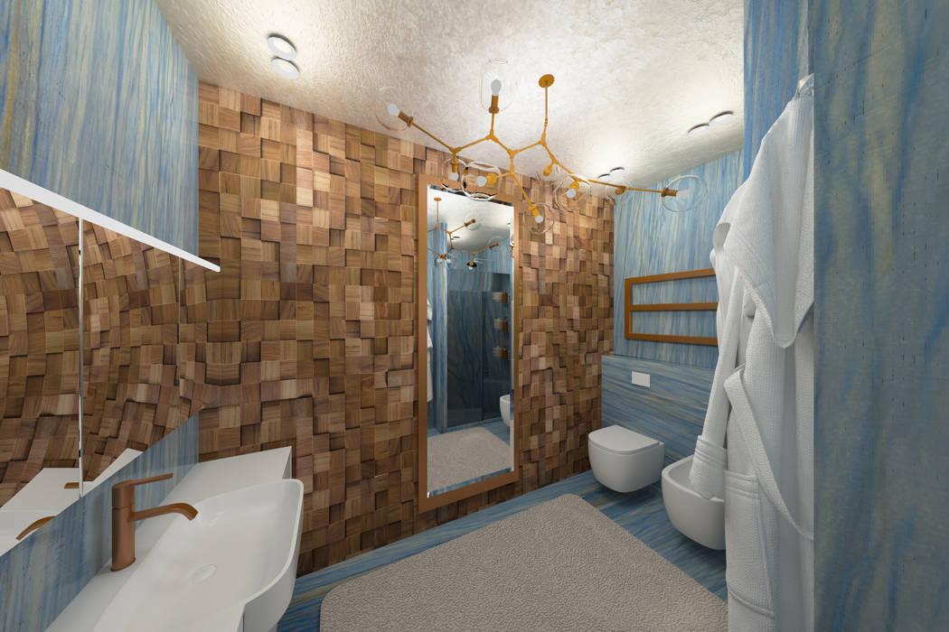 Мастер-ванная 2.: Ванные комнаты в . Автор – Мария Остроумова