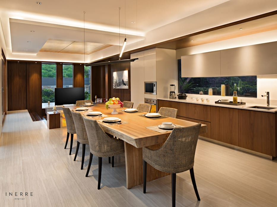 Ruang Makan Modern Oleh INERRE Interior Modern