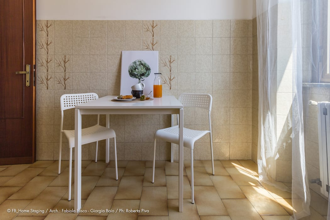 Cocinas de estilo  por Fabiola Fusco -  Architetto e Home Stager,