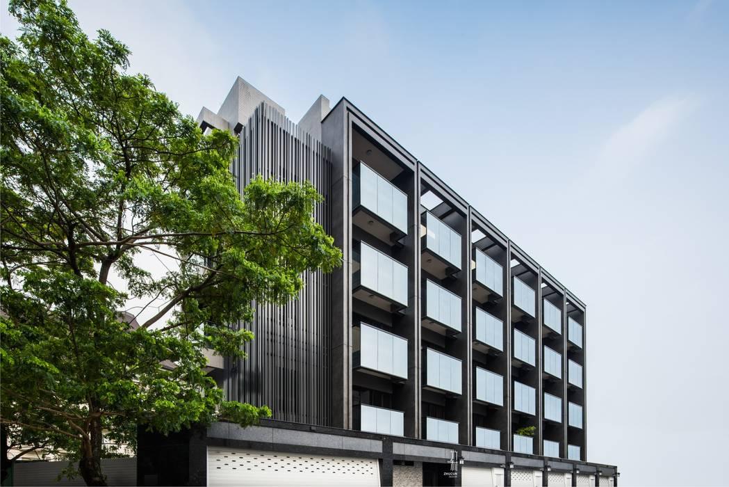 單純是最重要的設計 Minimalist offices & stores by 竹村空間 Zhucun Design Minimalist Metal