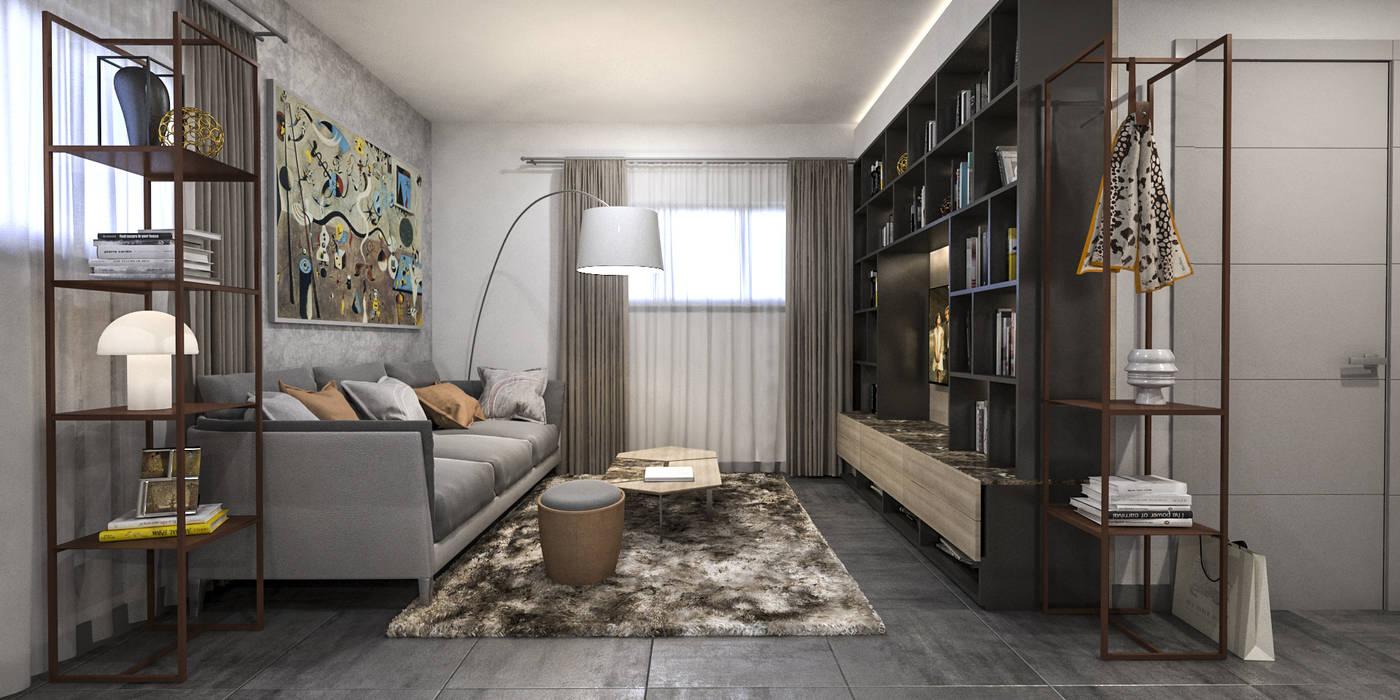 Living room تنفيذ Siderio