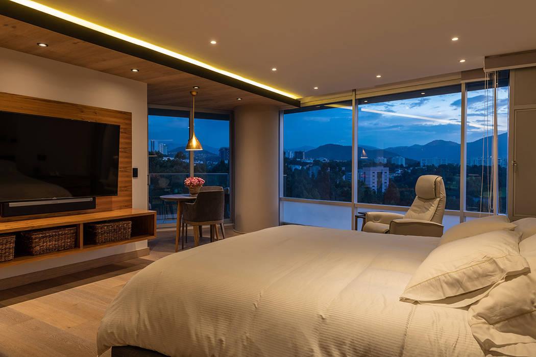 ARCO Arquitectura Contemporánea Modern style bedroom