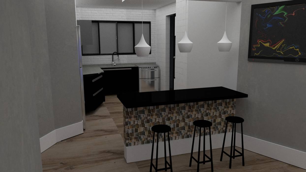 Kitchen units by STUDIO SPECIALE - ARQUITETURA & INTERIORES, Modern Ceramic