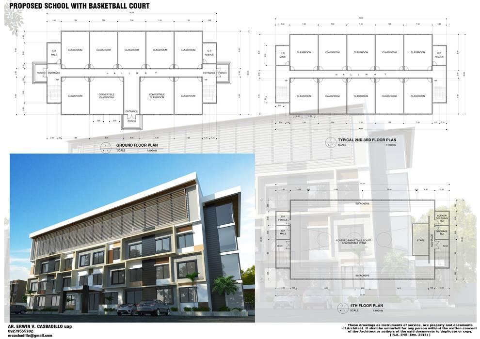 by E.V.Casbadillo Arquitectura Modern Reinforced concrete