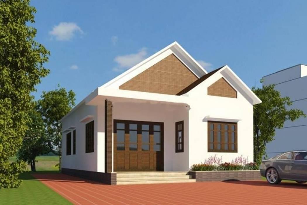 Moderne Häuser von Kiến Trúc Xây Dựng Incocons Modern