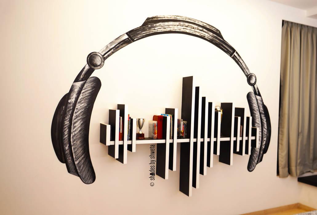 creative rhythm:  Walls by shades - design studio by shweta