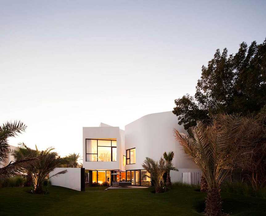 AGi architects arquitectos y diseñadores en Madrid Single family home Concrete White