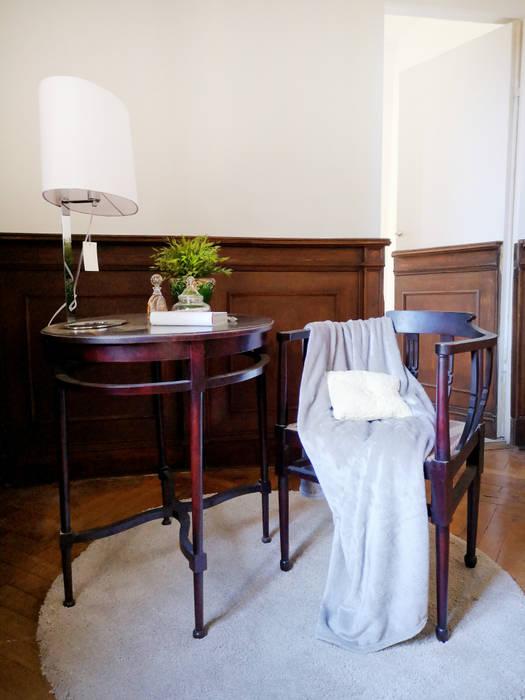 Angolo studio in camera.: camera da letto in stile di rifò, | homify