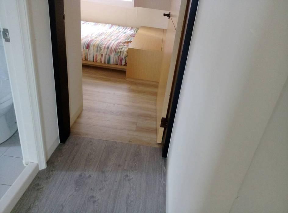 北成路 根據 昇揚木地板 現代風 複合木地板 Transparent