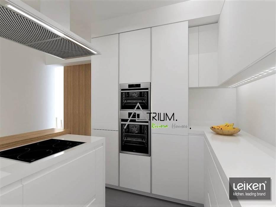Kitchen by Atrium Projetos e Construção,