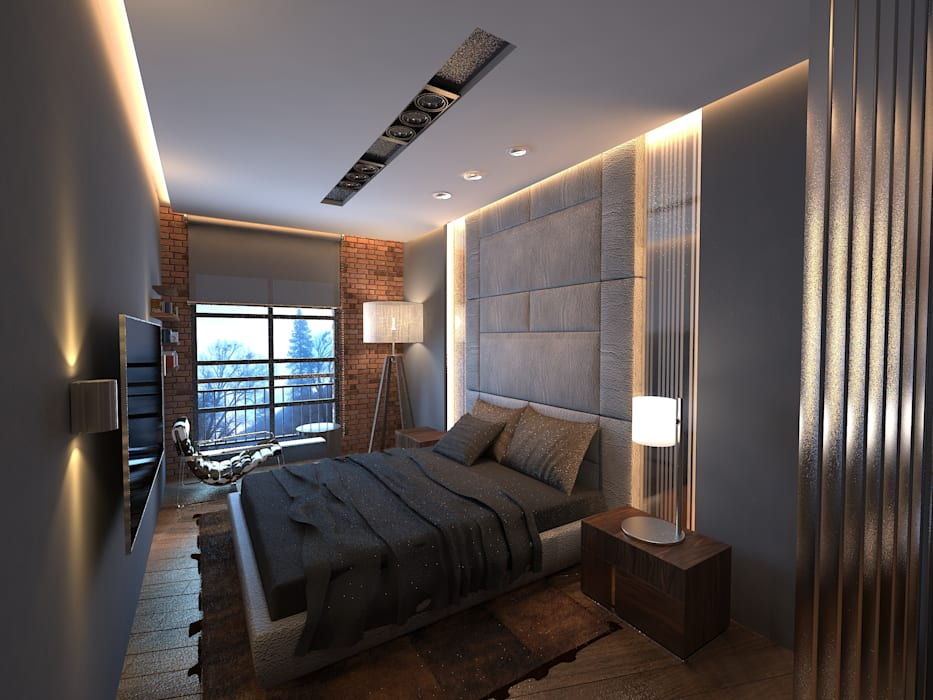 Bornova Apartman Klasik Yatak Odası Doku Mimarlık Klasik