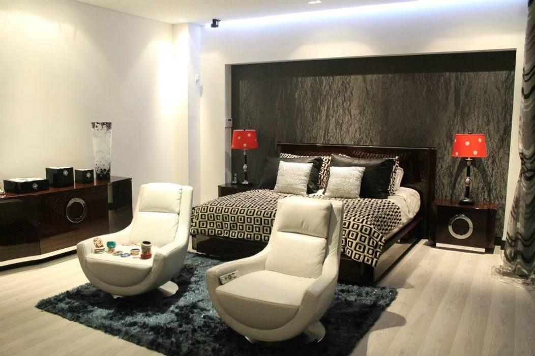 HABITACIÓN PRINCIPAL: Habitaciones de estilo  por IngeniARQ Arquitectura + Ingeniería,