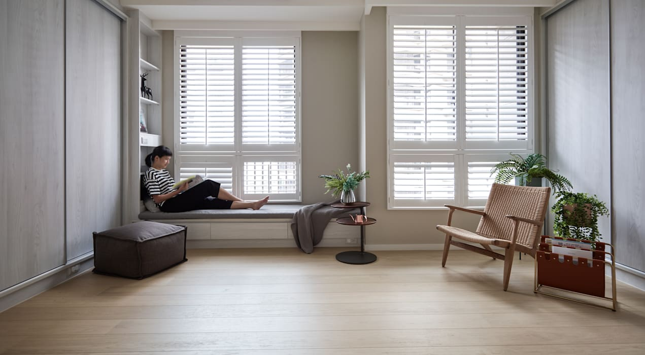 片刻的寧靜:  窗戶 by 耀昀創意設計有限公司/Alfonso Ideas