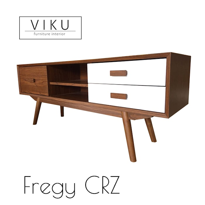 Fregy Credenza Oleh viku Skandinavia Kayu Wood effect