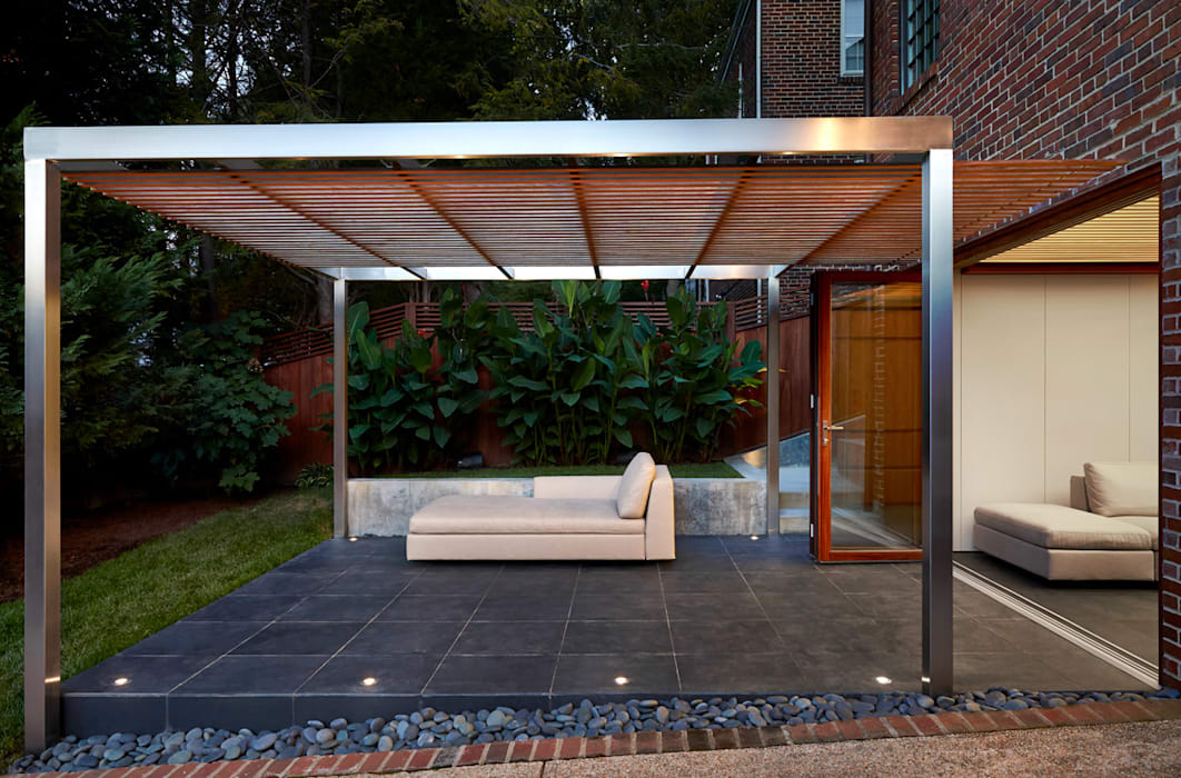 Casas estilo moderno: ideas, arquitectura e imágenes de KUBE architecture Moderno