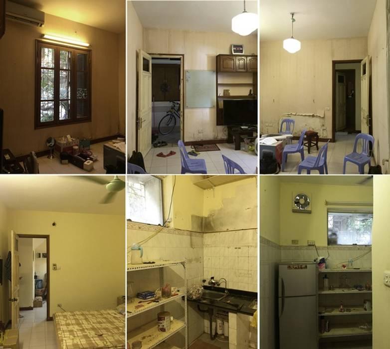 Dịch vụ cải tạo nhà cửa giá rẻ tại Hà Nội - 0243.200.39.09 bởi Kiến Trúc Xây Dựng Incocons Hiện đại