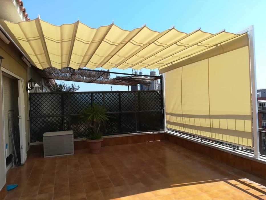 Balconies, verandas & terraces  by TOLDOS CLOT, S.L.,
