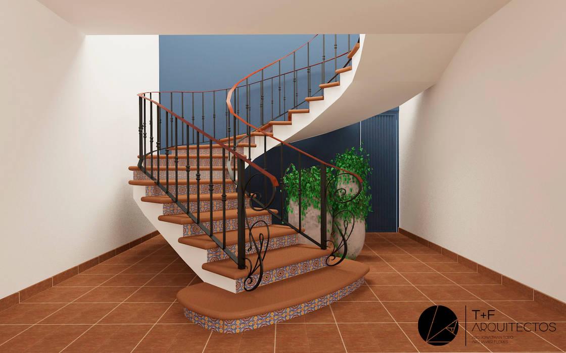 บันได โดย T+F Arquitectos, ชนบทฝรั่ง