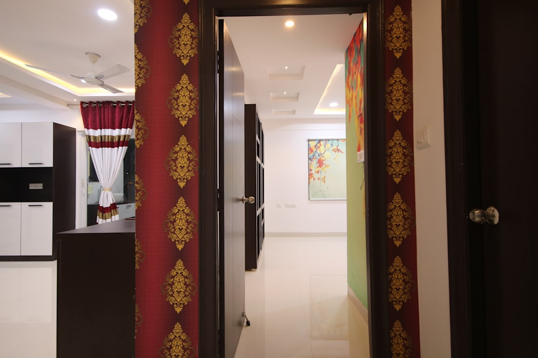 Master Bedroom Entrance Bedroom By Enrich Interiors Decors Homify