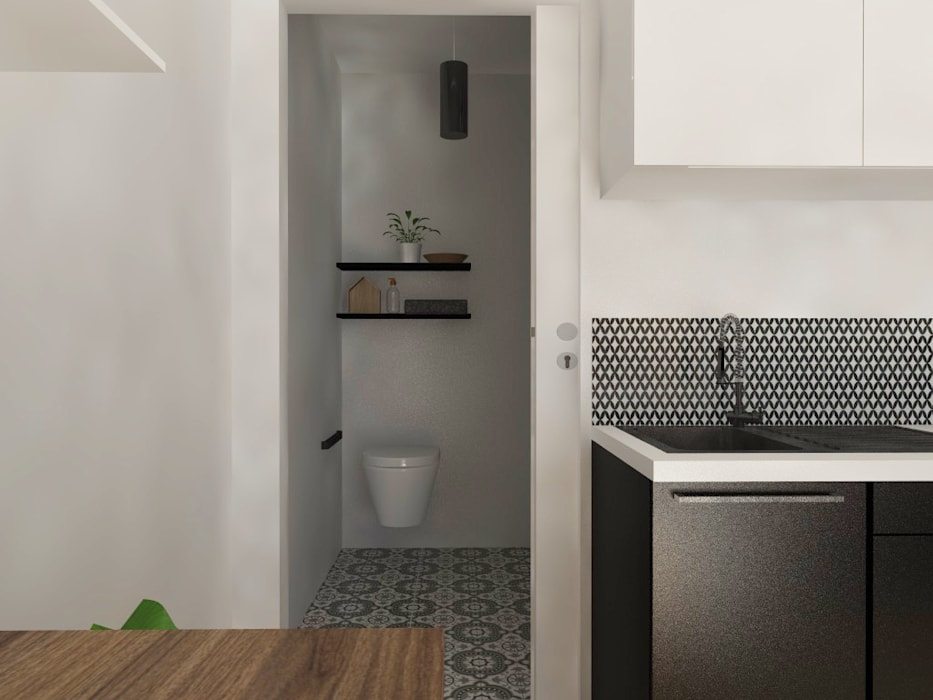 Appart\' parisien - style atelier & indus\' salle de bain ...