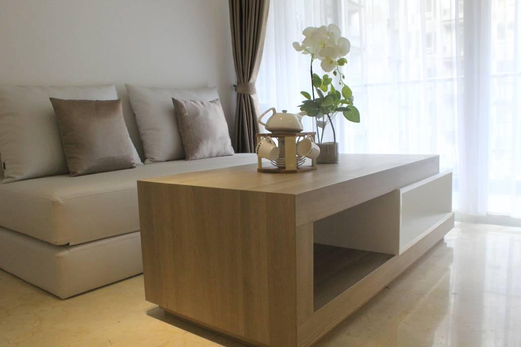 Apartemen Landmark II - Tipe 2 Bedroom (Design I) Oleh POWL Studio Minimalis