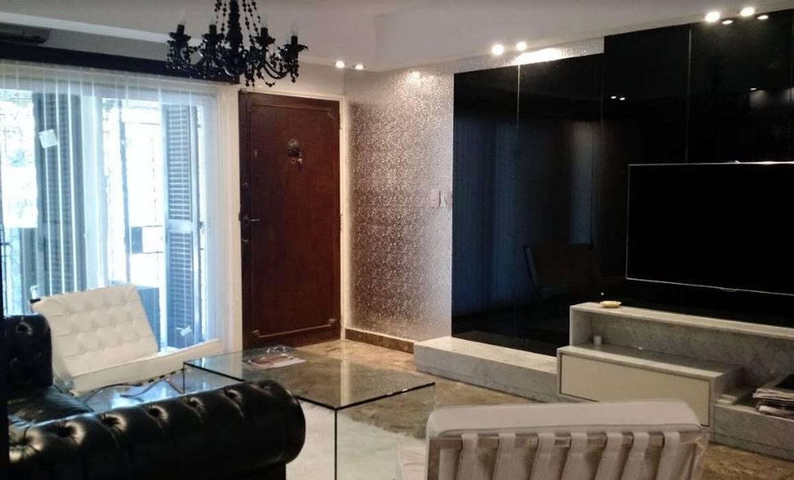 Diseño de Interior de Living Comedor por 3G Arquimundo Livings modernos: Ideas, imágenes y decoración de Arquimundo 3g - Diseño de Interiores - Ciudad de Buenos Aires Moderno
