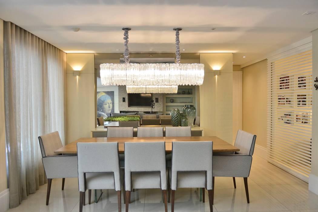 Ruang Makan oleh BG arquitetura | Projetos Comerciais, Modern