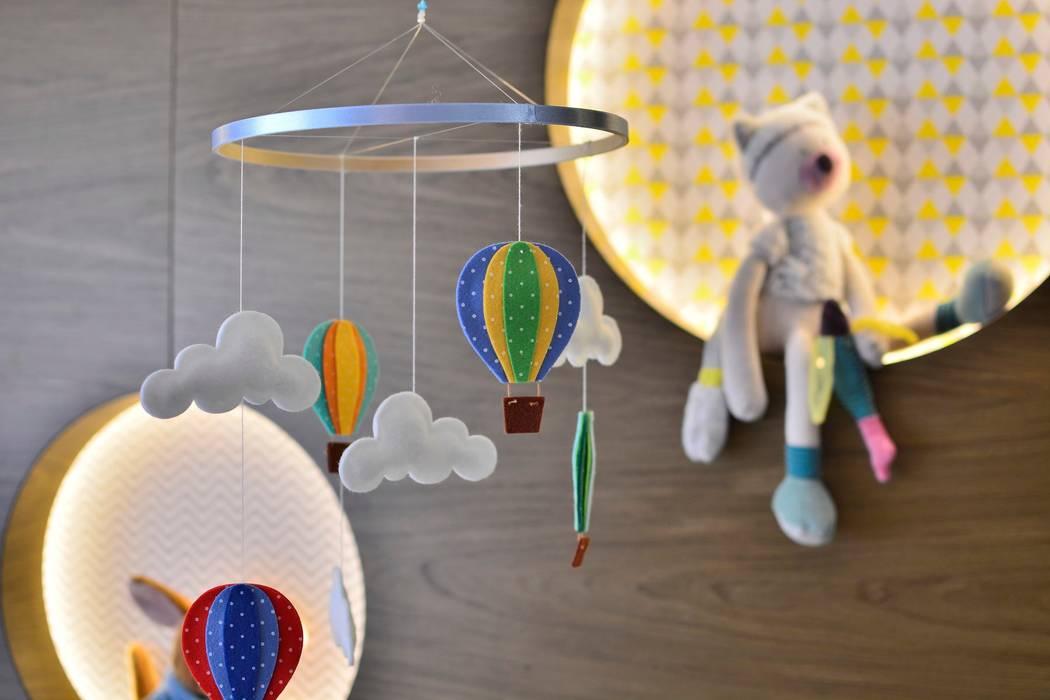 Dormitorios de bebé de estilo  por BG arquitetura | Projetos Comerciais, Moderno