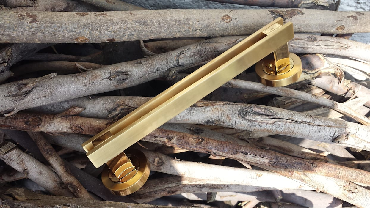 minimalist  by Industrial de Cerraduras, Minimalist Copper/Bronze/Brass