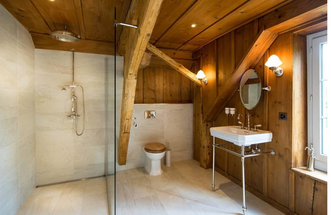 Badezimmer Im Chaletstil Badezimmer Von Traditional Bathrooms Gmbh