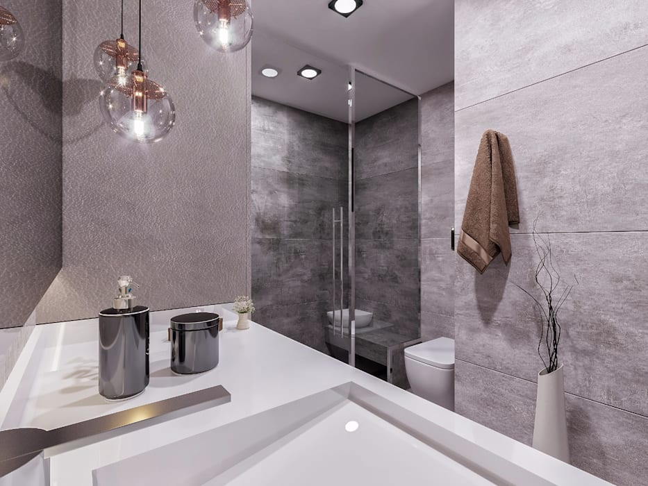 Banyo Modern Banyo ANTE MİMARLIK Modern