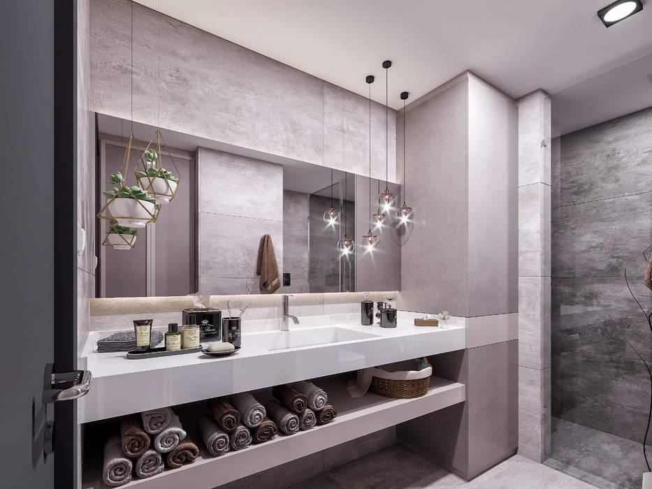 Banyo aksesuarları Modern Banyo ANTE MİMARLIK Modern