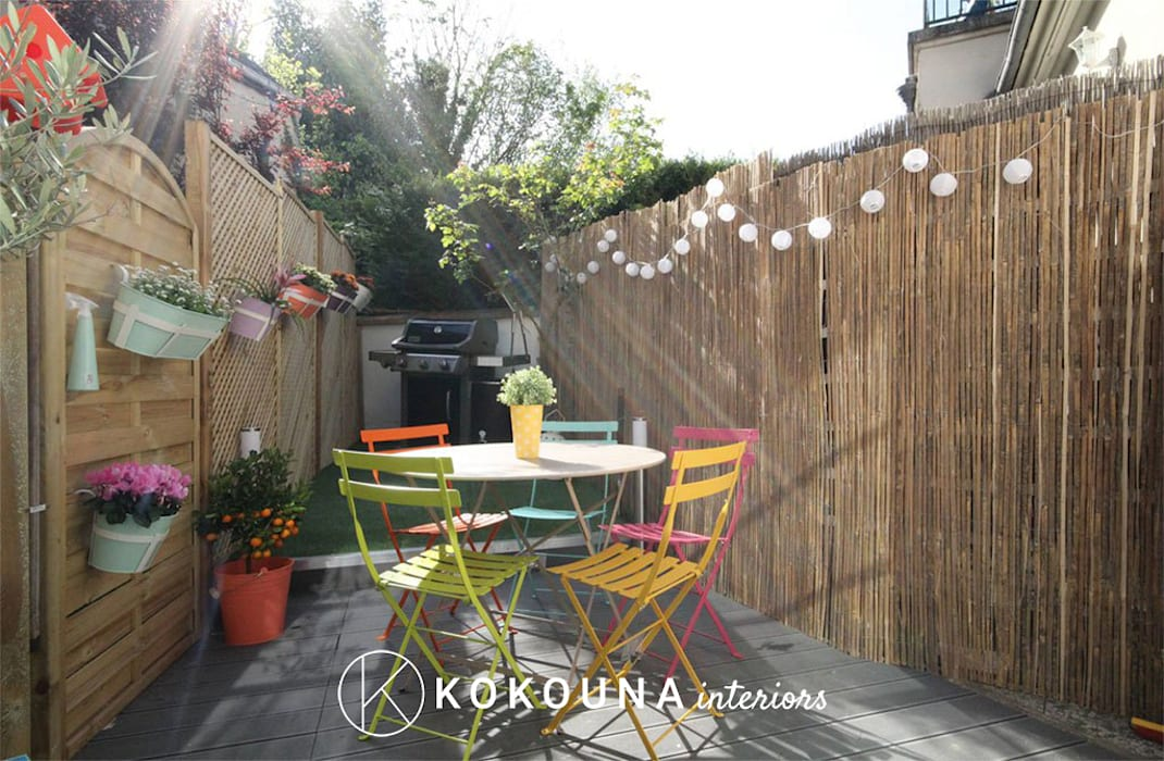 Rénovation d\'un jardin: jardin de style par kokouna, moderne ...